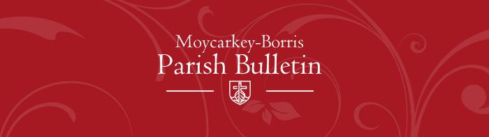 Parish Bulletin – 21st October 2018